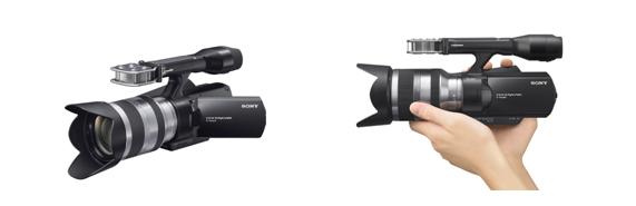 レンズ交換式デジタルHDビデオカメラレコーダー『NEX-VG10』