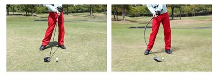 動体歪みを低減した1/32000秒撮影時の比較イメージ図(左:『RX100 IV』、『RX10 II』使用時、右:他社使用時)