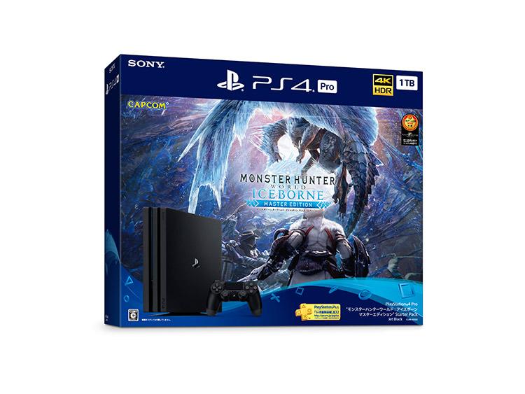 """PlayStation®4 Pro """"モンスターハンターワールド:アイスボーン マスターエディション"""" Starter Pack"""