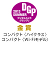 2013DGP-SUMMER-Gold受賞