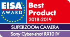 EISA SUPERZOOM CAMERA 2018-2019 RX10 IV(DSC-RX10M4)