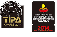 TIPA AWARD 2014 - INTERNATIONAL CES INNOVATIONS DESIGN AND ENGINEERING AWARDS