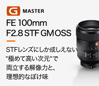 FE 100mm F2.8 STF GM OSS Coming Soon...