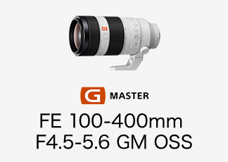 FE 100-400mm F4.5-5.6 GM OSS
