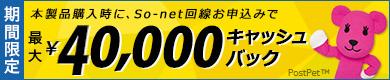 インターネット取次サービス(So-net)