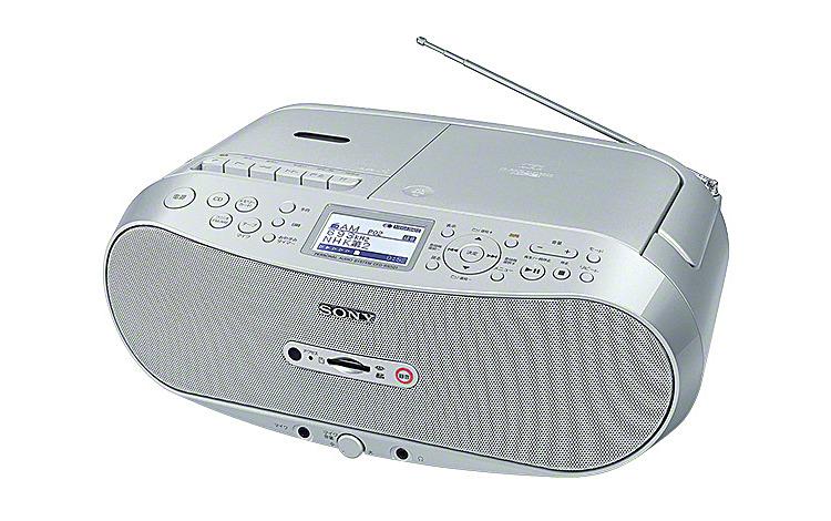 CDラジオカセット メモリーレコーダー CFD-RS501