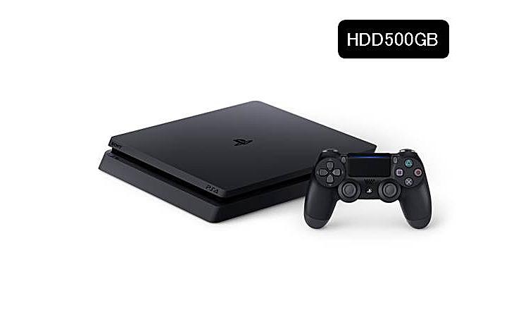 PlayStation(R)4 ジェット・ブラック 500GB CUH-2100AB01