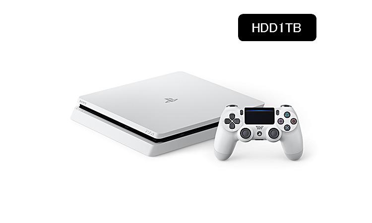 PlayStation(R)4 グレイシャー・ホワイト 1TB CUH-2100BB02