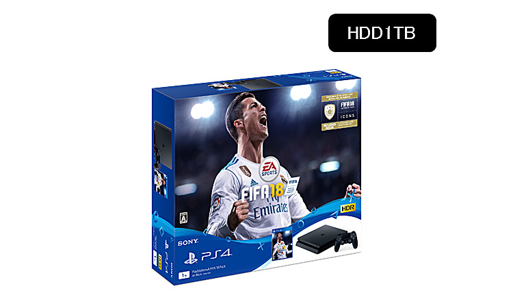 PlayStation(R)4 FIFA 18 Pack CUHJ-10017