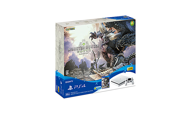 PlayStation(R)4 MONSTER HUNTER: WORLD Starter Pack White CUHJ-10023