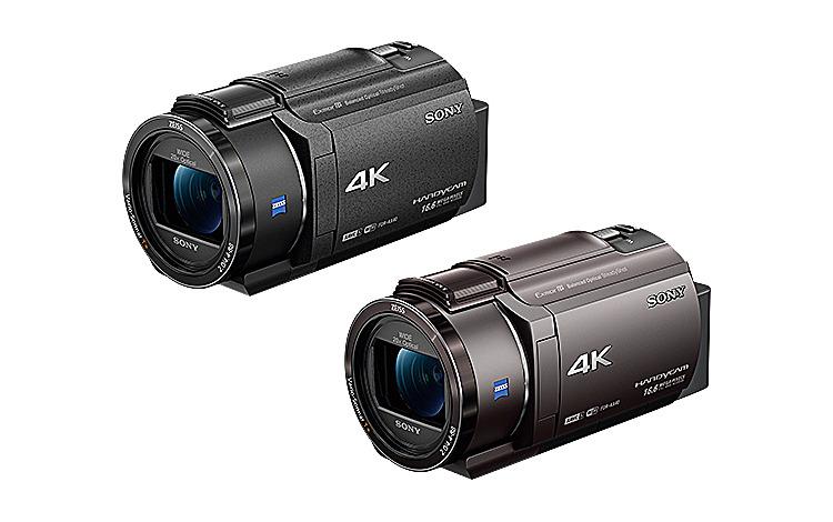 デジタル4Kビデオカメラレコーダー FDR-AX40