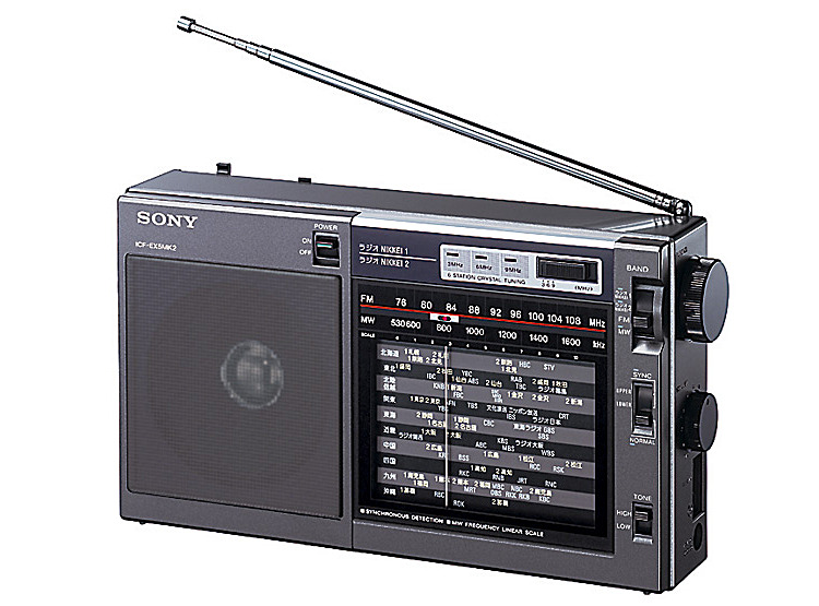 FM/AM/ラジオNIKKEIポータブルラジオ ICF-EX5MK2