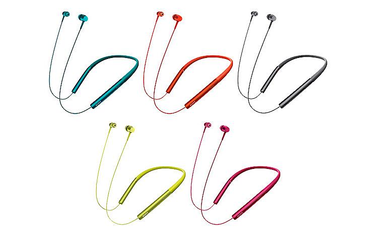 ワイヤレスステレオヘッドセット h.ear in Wireless(MDR-EX750BT)
