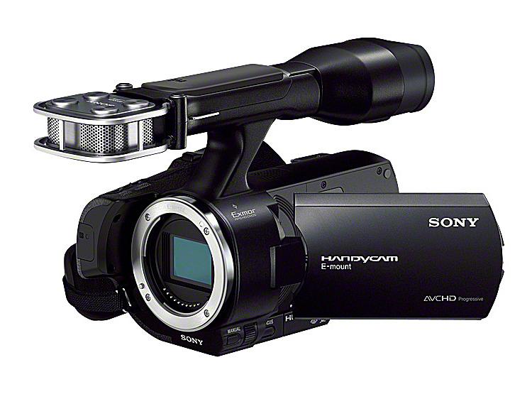 レンズ交換式HDビデオカメラ NEX-VG30