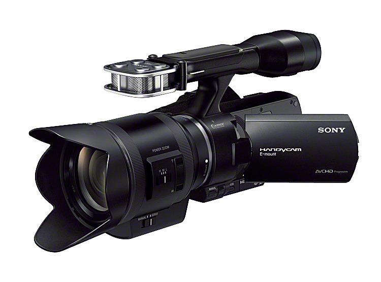 レンズ交換式HDビデオカメラ NEX-VG30H
