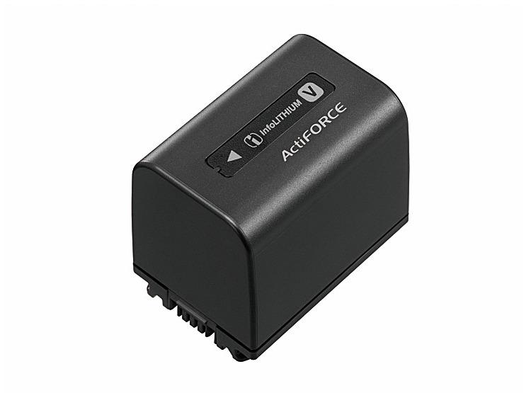 リチャージャブルバッテリーパック NP-FV70_5