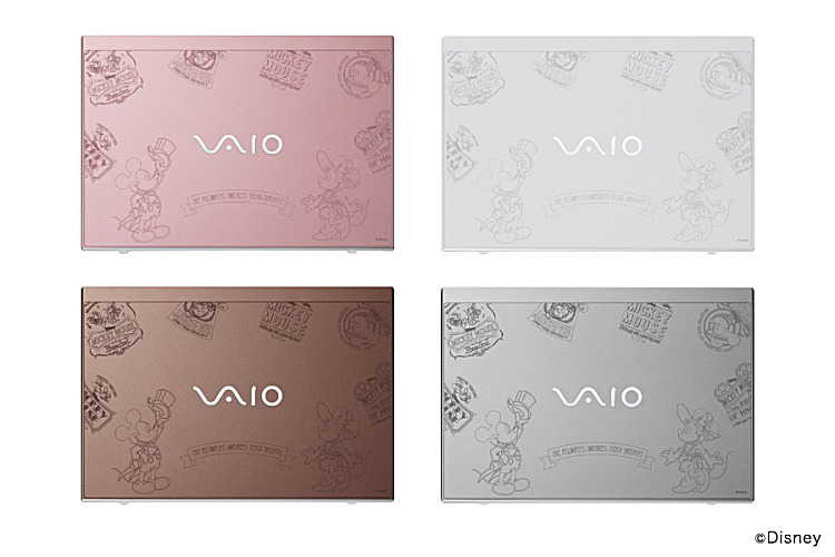 VAIO S11 Disney キャラクターデザインモデル
