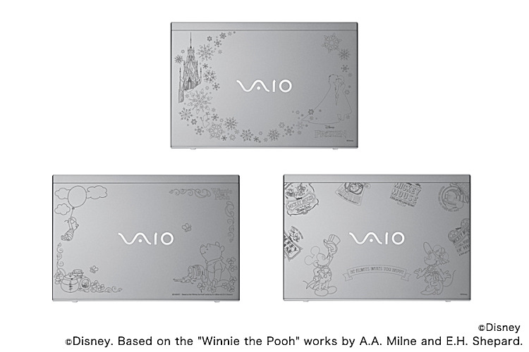 VAIO S13 Disney キャラクターデザインモデル