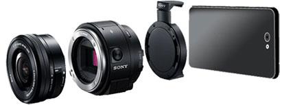Sony QX1 ve Qx30  style lens Japonya da satışa çıktı.