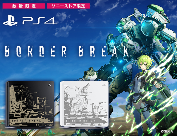 PlayStation®4 BORDER BREAK Limited Edition