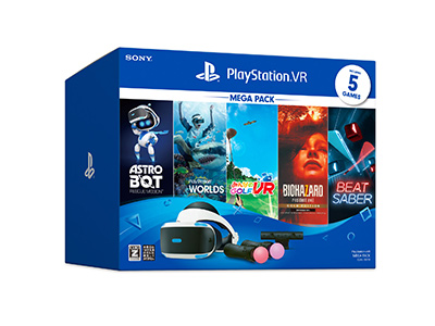 PlayStation®VR<br>MEGA PACK
