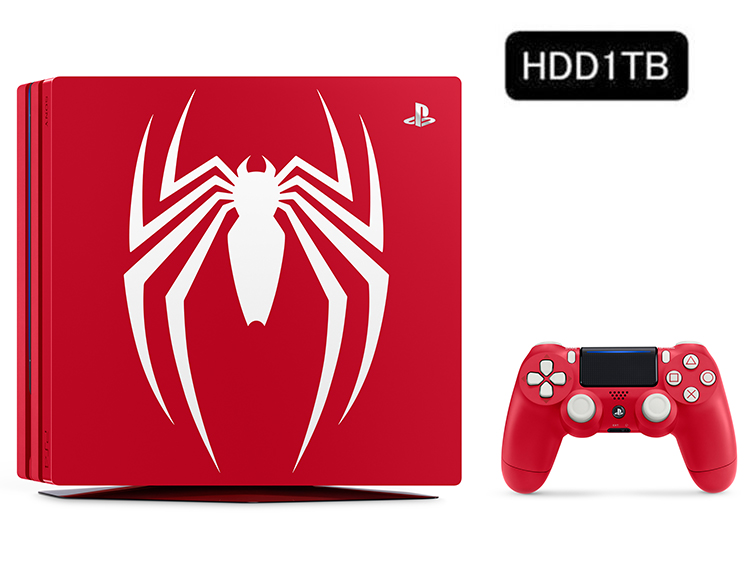 PlayStation&reg;4 Pro<br>Marvel's Spider-Man Limited Edition