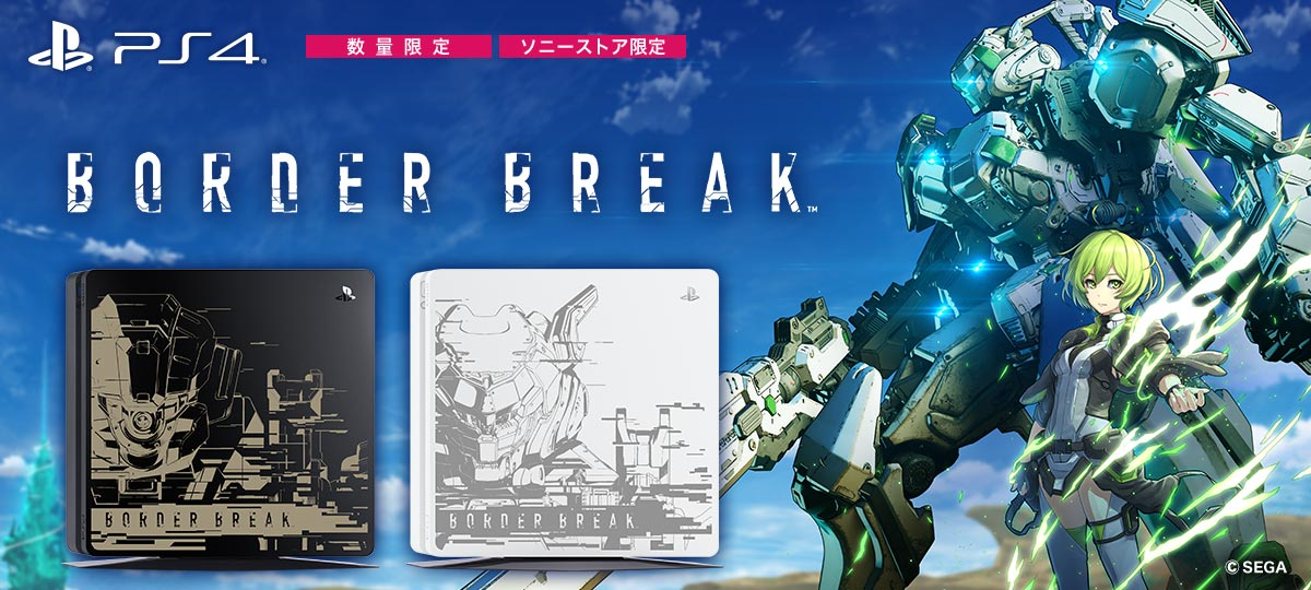 PlayStation®4','PlayStation®4 BORDER BREAK Limited Edition