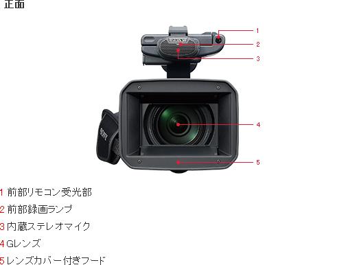 デジタルビデオカメラ Handycam ハンディカム