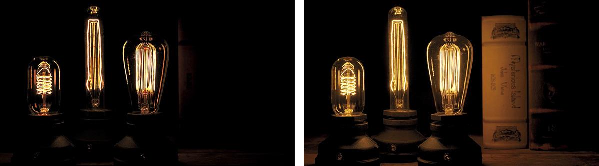 左:標準画質 右:HDR(HLG)