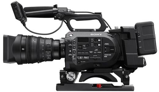 ※ 画像のカメラ本体はPXW-FS7です