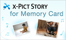 X-PICT STORY for MemoryCard
