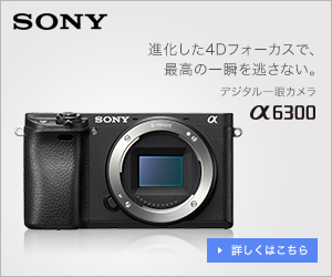 けーしんより先にα6300を買って自慢するにはこちらをクリック! SonyMusicShop