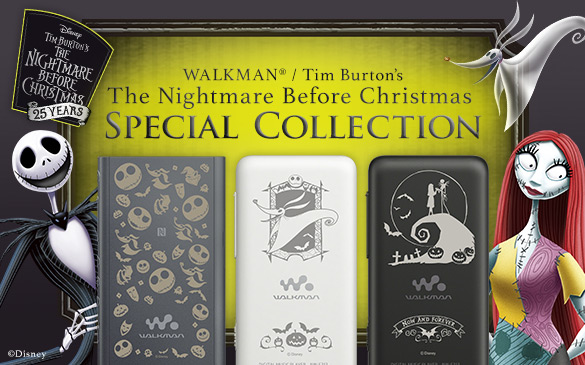 WALKMAN / Tim Burton′s The Nightmare Before Christmas Special Collection