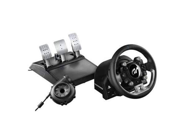 T-GT Force Feedback Racing Wheel for PS4
