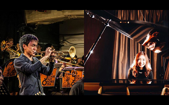 荒牧峻也&松元沙綾 Jazz session at Sony store Fukuoka tenjin 〜Monthly Music Session〜