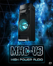 MHC-V3 HIGH POWER AUDIO