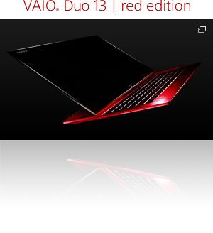 VAIO Duo 13 | red edition