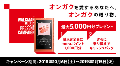 WALKMAN MUSIC PRESENT CAMPAIGN