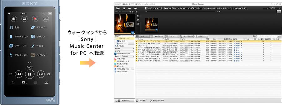 ダウンロード | Music Center for PC | ソニー