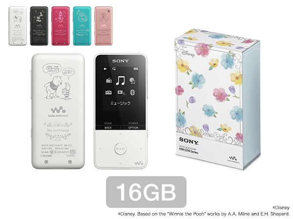 ウォークマン®Sシリーズ Disney Characters Floral Collection(16GB)
