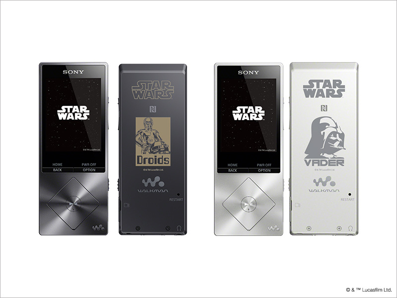 ウォークマン® NW-A20 Series STAR WARS High-Resolution Collection