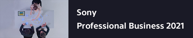 Sony Professional Business 2021